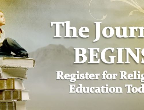 Register for 2019-20 Religious Education