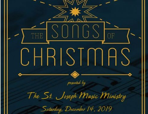 St. Joseph Music Ministry Christmas Concert Saturday, December 14th at 6:00 p.m.