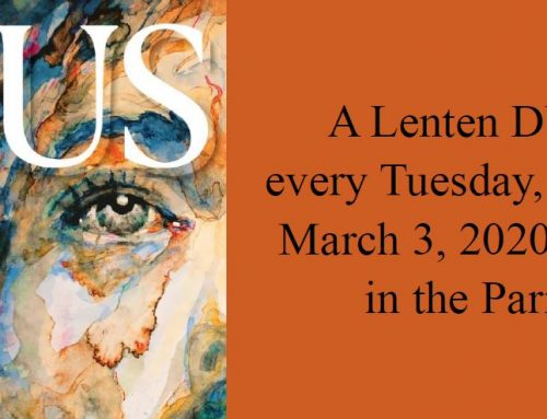 DVD Lenten Series Begins March 3, 2020
